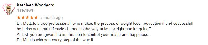 Mt Pleasant Weight Loss Patient Testimonial