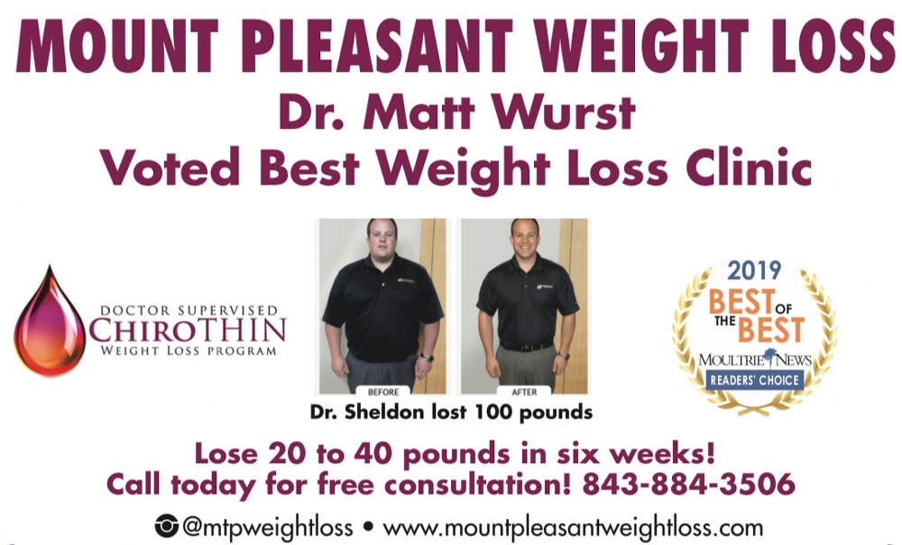 Dr. Matthew Wurst Voted Best Weight Loss Office in Mt Pleasant