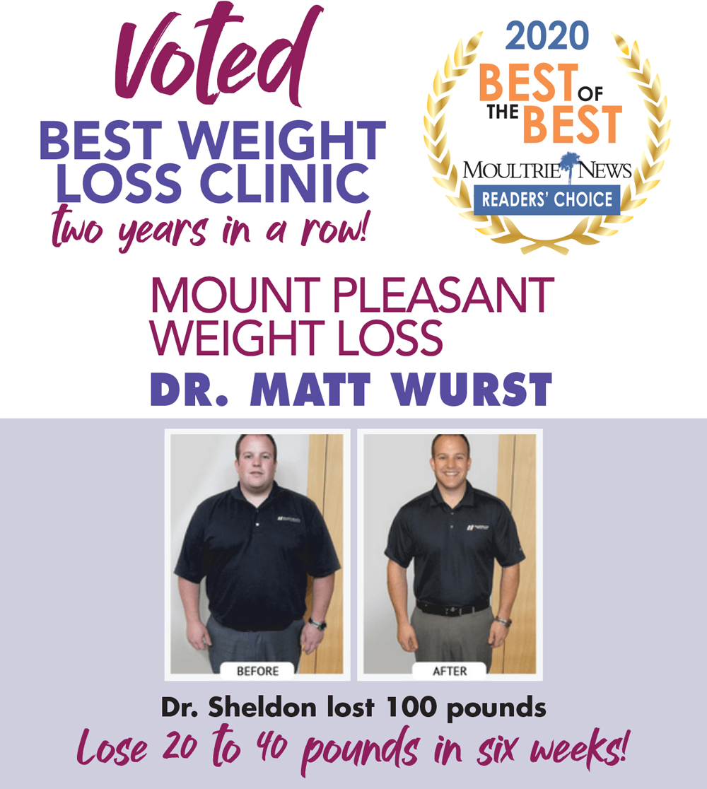 Dr. Matthew Wurst Voted Best Weight Loss Office in Mt Pleasant